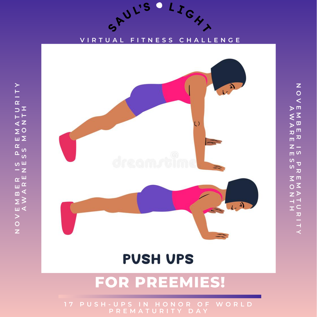 PUSH UPS FOR PREEMIES clipart 2020